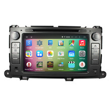 8″ Android 5.1.1 Quad Core Car Radio DVD GPS Navigation Central Multimedia for Toyota Sienna 2009-2013 WIFI Bluetooth Handsfree