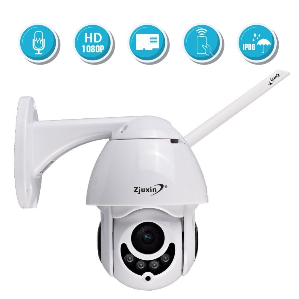 IP Camera WiFi Full HD 1080P Wireless Wired PTZ Outdoor Speed Dome Cctv Camra App ICSee XMEYE CMS bewakingscamera's-in Beveiligingscamera´s van Veiligheid en bescherming op AliExpress - 11.11_Dubbel 11Vrijgezellendag 1