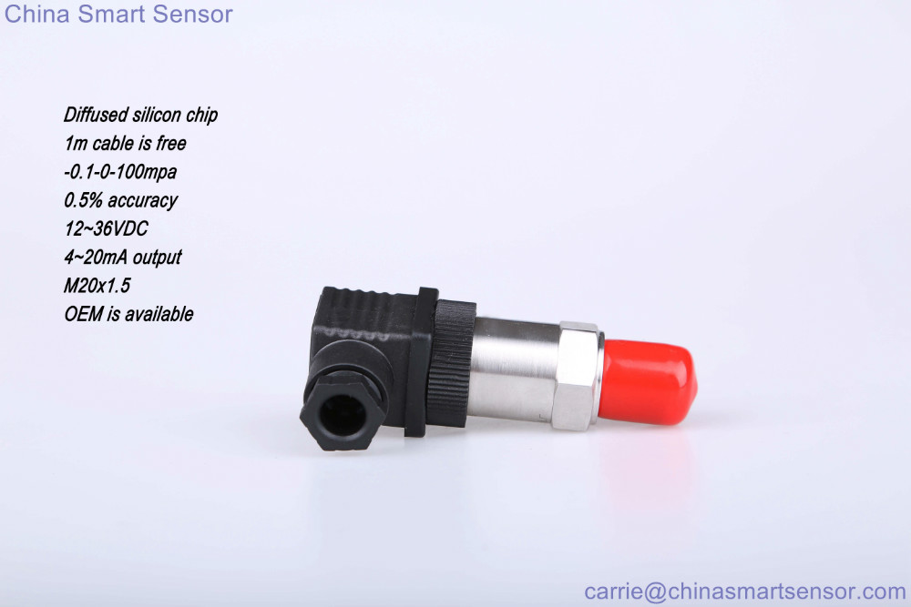 4 20ma Diffused Silicon Pressure Transmitter Multiple Range In Stock Pressure Sensor Can Produce According to Your Application in stock can pay pth05060wah