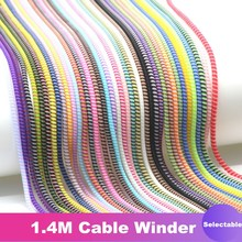 Cable-Cord-Protector Usb-Charger Data-Cable Colorful Spiral iPhone Samsung Wrap TPU