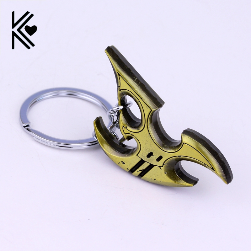 New Classic Games Blizzard StarCraft 2 Protoss Logo Super stimulus play Jewelry factory price of film mens gift