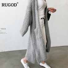 Female Coat Knitted Fashion