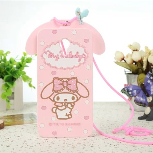Shockproof 3D Lovely Cartoon Kitty My Melody Cover Case For Meizu M3 Note / Meizu M2