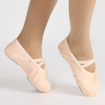Girls Shoes High Quality Kids Ballet Shoes Children Pointe Shoes Dance  Slippers Yoga Girls Flats Shoes For Mother And Daughter-Leather bag