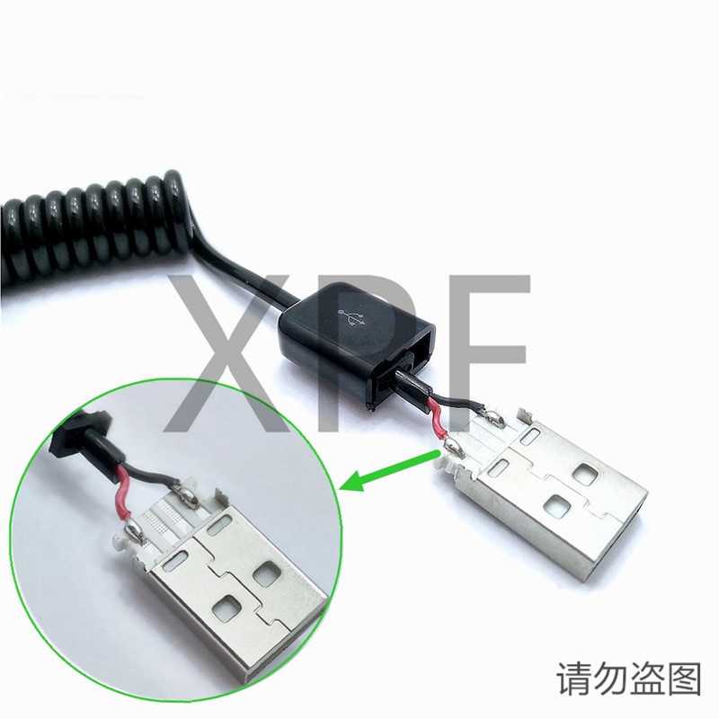 Bold Copper Wire Spring USB 3 1 Type C Cable Charge Stretch Cord for Nokia N1 OnePlus 2 ZUK Z1 Xiaomi 4C MX5 Pro Nexus 5X 6P in Data Cables from Consumer Electronics