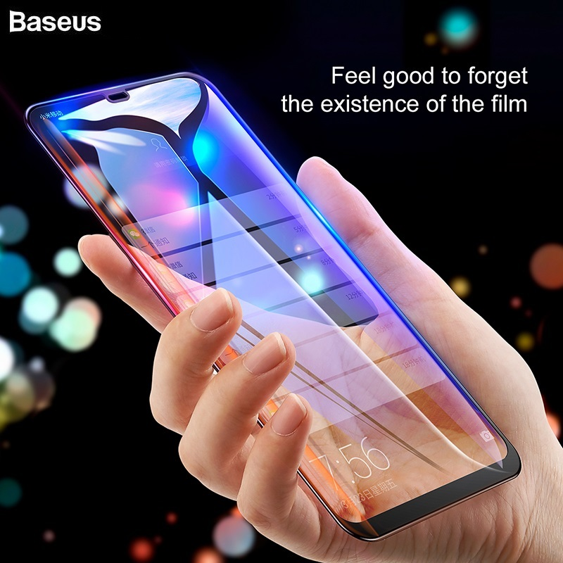 BASEUS Brand 7D Full Curved Tempered Glass Screen Protector