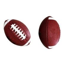 ПВХ кожа Мини регби Дети Спорт на открытом воздухе Американский футбол милый ученик тренировочный мяч подарок на день рождения игрушка