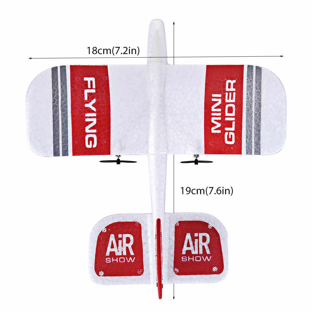 KFPLAN KF606 RC самолет летающий самолет 2,4 ГГц 2CH EPP мини комнатная игрушка-планер Встроенный гироскоп RTF самолет из пеноматериала игрушки детские подарки