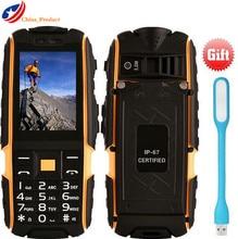 (24 heures gratuite) DTNO. Je A9 Russe et Arabe clavier 4800 mAh batterie IP67 Étanche antichoc téléphone mobile téléphones cellulaires