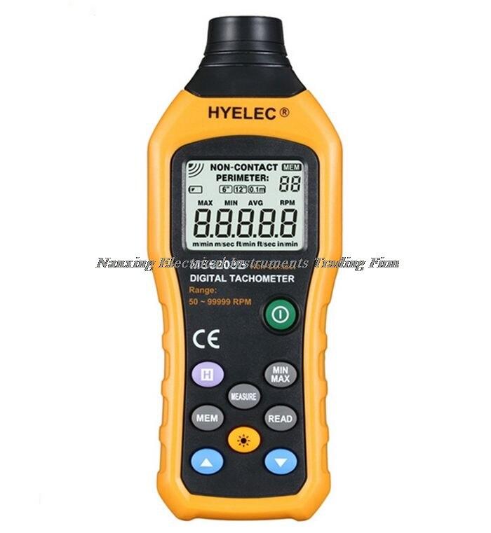 Livraison rapide MS6208B LCD numérique Laser Photo tachymètre RPM compteur sans contact Tacometro vitesse de Rotation 50 tr/min-99999 tr/min