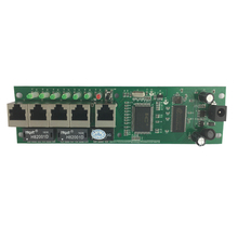Mini size intelligent wired distribution box 5-port router modules OEM pcb module 192.168.0.1 shenzhen wire router manufacturer(China (Mainland))