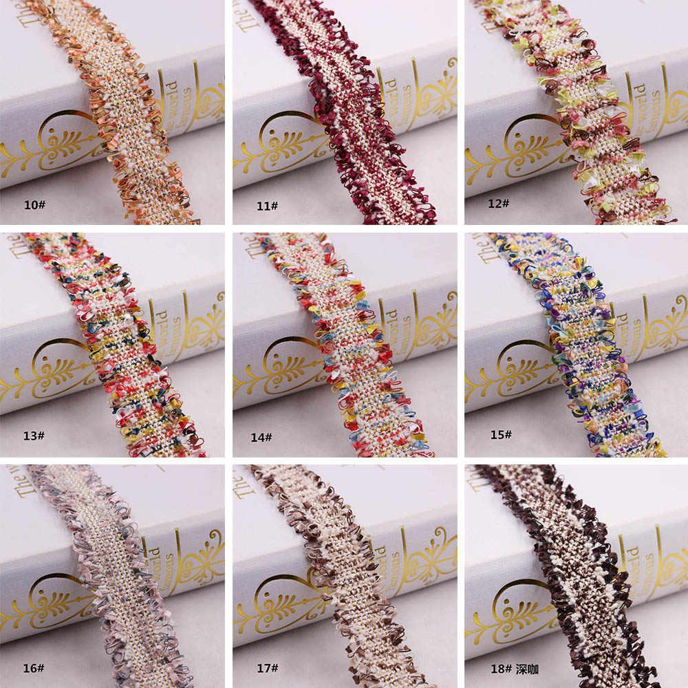 1 ярд винтажная Золотая жемчужина вышитая кисточками кружева обрезанная Лента ткань ручной работы сделай сам костюм материалы для шиться ремесло