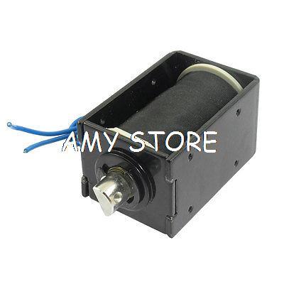 DC 24V 0.49A 8mm Stroke 1000gf Force Pull Electromagnet Coil 50HzDC 24V 0.49A 8mm Stroke 1000gf Force Pull Electromagnet Coil 50Hz