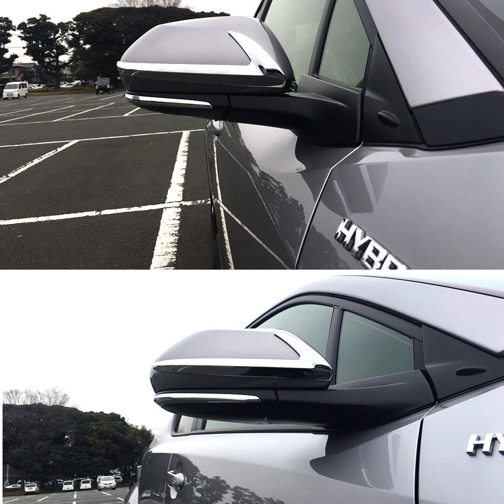 Back To Search Resultsautomobiles & Motorcycles Chrome Rearview Side Mirror Strip Garnish Trim Cover For Toyota C-hr Chr 2017-18-not Fit For Mirror With Turn Signal Light Warm And Windproof