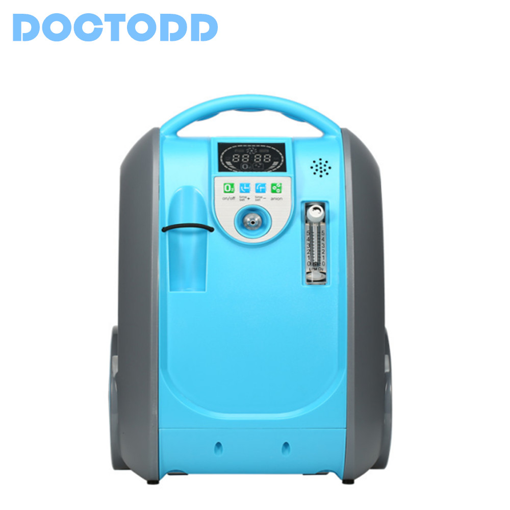 CE Oxygen Concentrator Battery Oxygen Generator Portable O2 Bar Lithium Battery AC Source Car Charger Supported O2 Generator 32w oxygen concentrator machine portable oxygen generator 3l min low noise