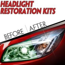 Комплект фар DIY для автомобиля фара линзы восстанавливает четкость налобный фонарь полировка УФ защитный Автомобиль Стайлинг
