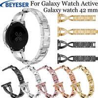 20 millimetri In Acciaio Inox Cinturino per Samsung Galaxy Orologio attivo 2 Cinturino A Sgancio Wristband Per Samsung Gear sport S2 orologio fascia