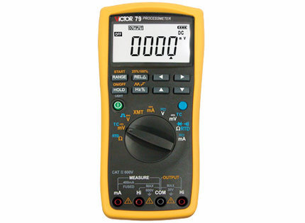 цена на VICTOR 79 multimeter VC 79 multi-purpose table and process signal source 2 in 1 Digital Autoranging Measuring Process Multimeter