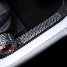 5D Carbon Fiber Vinyl Protector Strip Sticker 3D Car Stickers Interior Accessories Automobiles Universal Styling