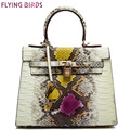 Flying birds2016 women handbag luxury brands Serpentine women bag messenger bags cross body designer shoulder bag purse LM3620fb