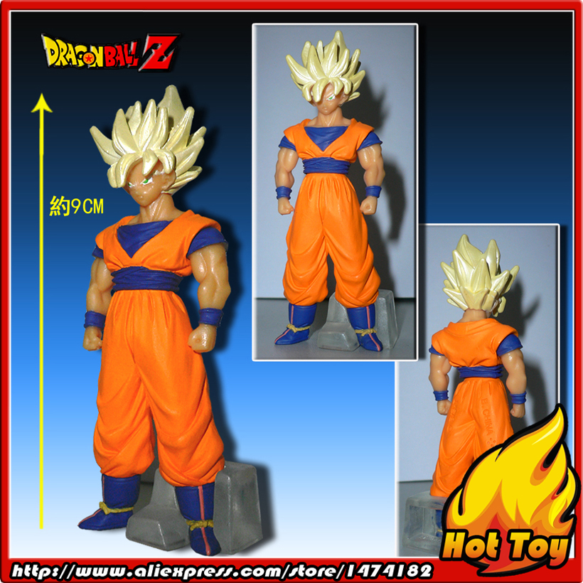 100% Original BANDAI Gashapon Figure HG Part 20 - Goku Super Saiyan (Special Ver.) from Japan Anime Dragon Ball Z (9cm tall) 100% original bandai gashapon figure hg part 20 goku super saiyan special ver from japan anime dragon ball z 9cm tall