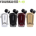 New Fineblue F-V3 Wireless Bluetooth Headset Driver Auriculares Stereo Earphone Retractable Clip Headphones With MIC for headpho