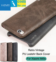 X Level Case For Xiaomi Mi5s Snapdragon 821 Retro Vintage X Level Leather Back Protective Cover