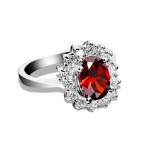 Luxury quality 3Ct SONA Synthetic stone wedding ring. Solid 925 sterling silver engagement ring for woman Wholesale jewelry gift