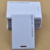 1000 шт./лот 125 кГц rfid EM ID TK4100/EM4100 Толстые карты Система контроля доступа rfid карты