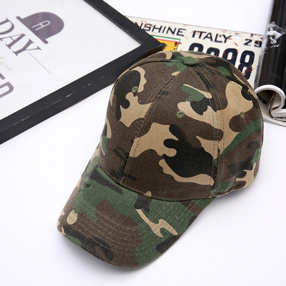 Fashion New Unisex Men Women Snapback Snap back Camo hats Camouflage Cotton Lovers Baseb ...