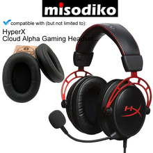 misodiko Replacement Ear Pads Cushions Kit for   HyperX Cloud Alpha Gaming Headset, Repair Parts Earpads with Memory Foam