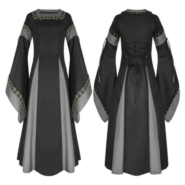 Косплей средневековое платье в ассортименте 3