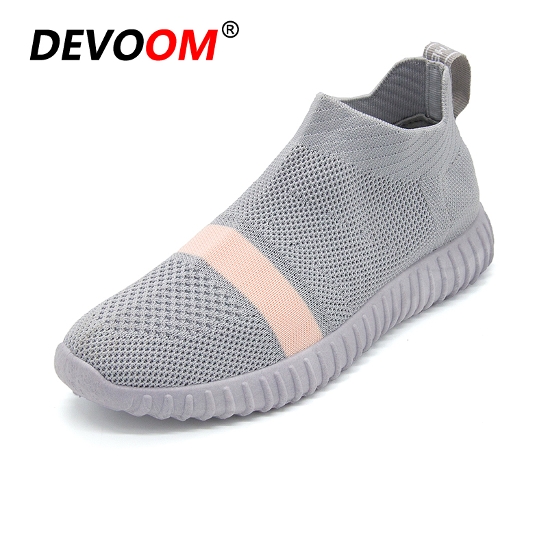 NEW Fashion Women Casual Shoes Slip On Summer Woven Loafers Women's flats Style Women Breathable Ladies Zapatillas Sock Shoes 2017 brand new women casual shoes summer breathable walking shoes low net surface flats fashion loafers 4 colors bc 03