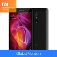 Original Global Version Xiaomi Redmi Note 4 Qualcomm 3GB 32GB Mobile Phone Snapdragon 625 Octa Core 13MP CE FCC 5.5 Inch