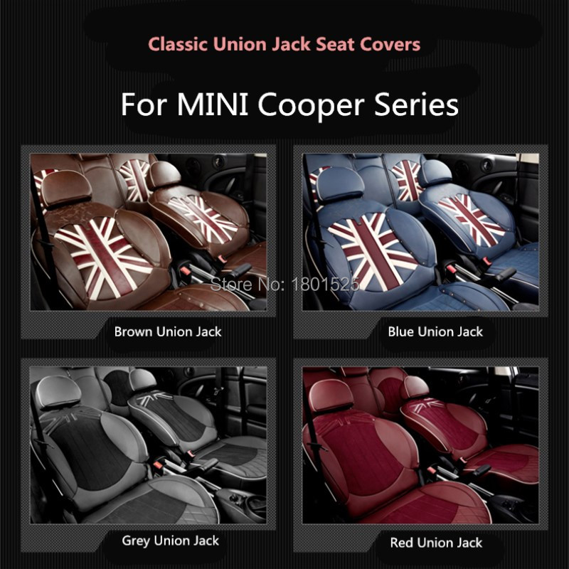 Classic Design leather car seat covers for mini cooper s clubman r55 r56 r57 r58 r60 r61 f54 f55 f56 F60 countryman four season цены
