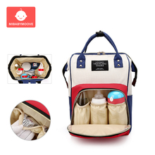 лучшая цена Fashion mummy diaper bag Large Capacity Maternity Nappy Baby Bags Waterproof Travel Backpack Handbag Nursing Bag for Baby Care