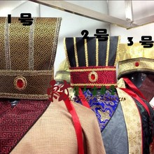 Three Kingdoms Period Great Sage Zhuge Liang Male Court Officer Prime Minister Tiaras