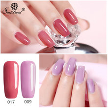 3 In 1 Gel Nail Varnish Pen Glitter One Step Nail Gel Polish Hybrid 60 Colors Easy To Use UV Gel Lacquer
