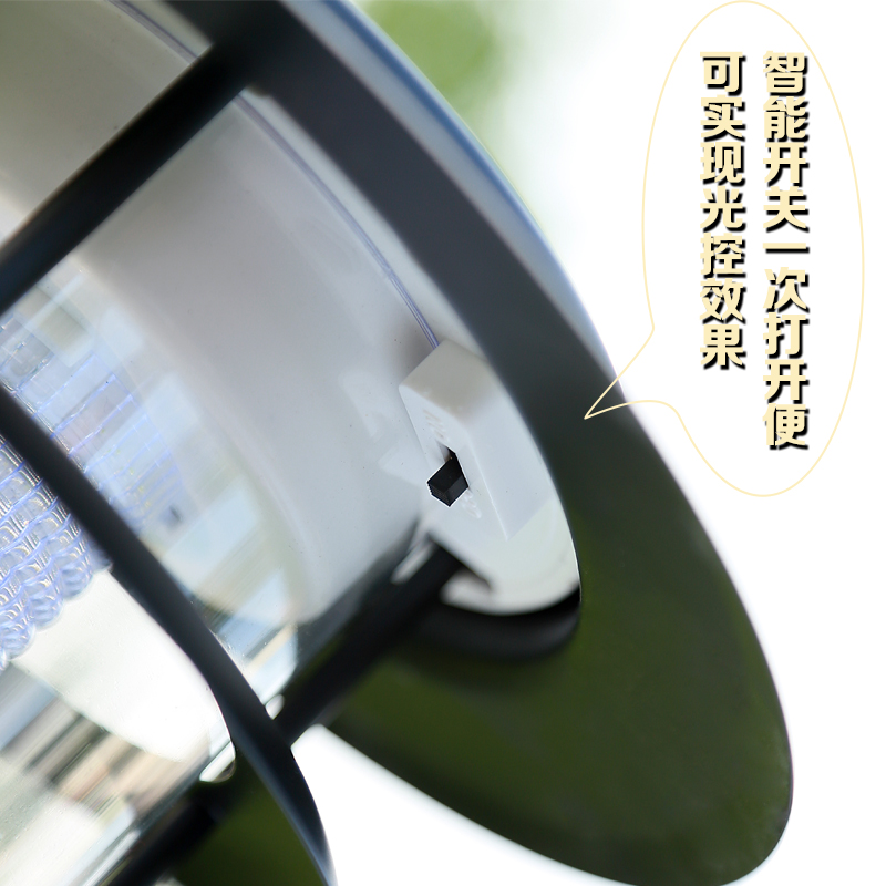 Outdoor lamp solar energy emergency energy saving stainless steel lawn lamp lawn garden lawn stainless steel floor lamp m