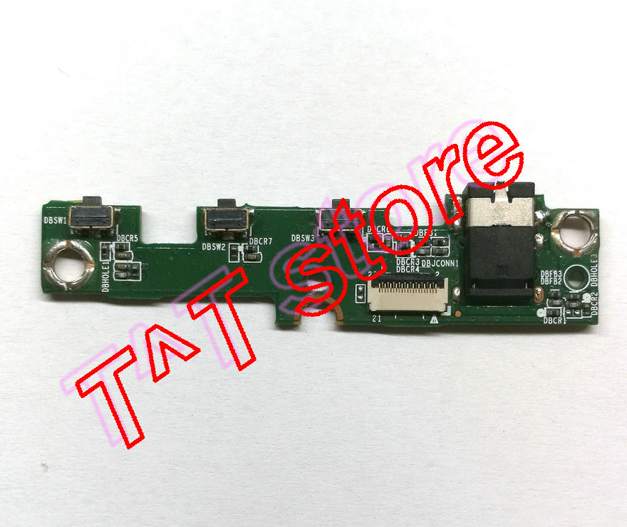 original for Miix 520 520-12IKB Power botton Board audio port board 431202407010 test good free shipping