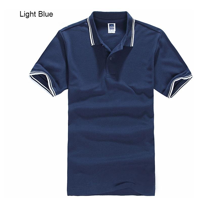New Brand Men's Polo Shirt For Men Desiger Polos Men Cotton Short Sleeve shirt Clothes jerseys golftennis Plus Size XS- XXXL