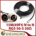 15M(49Ft) N to N RG5 Outdoor Antenna Cable Signal Booster Cable