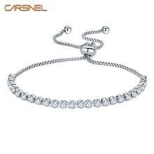 Carsinel новый регулируемый круглый циркониевый камень длинный