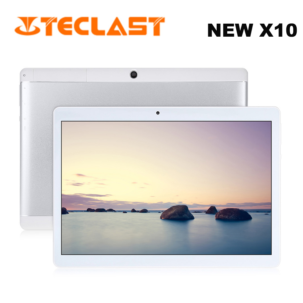 Teclast X10 Tablets PC 10.1'' 3G Phablet Android 6.0 OS MTK6580 Quad-core 1.3GHz CPU 1GB RAM 16GB ROM Tablet GPS Dual Camera