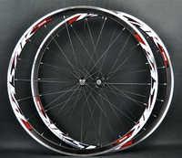 MEROCA 1680 de alta calidad 700C aleación V ruedas de freno BMX bicicleta de carretera rueda de aluminio camino Wheelset ruedas de bicicleta