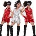 kids dance costumes2016 girls jazz dance costumes hip hop dance costumes