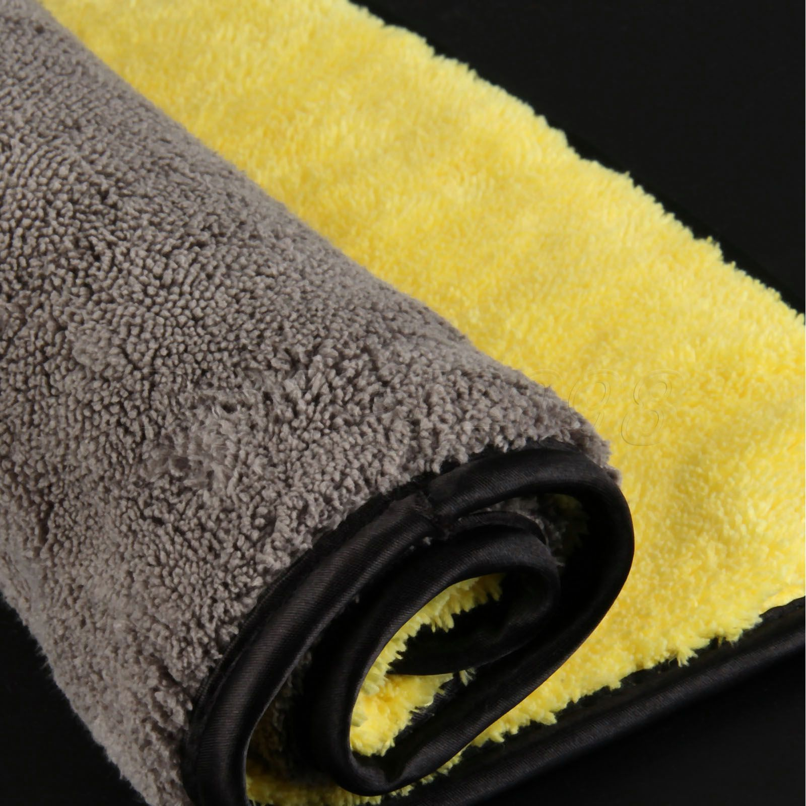 Image 2 - Yetaha 92*56cm Car Waxing Cloth Wash Microfiber Towel Car Cleaning Care Drying Detailing Polishing-in Sponges, Cloths & Brushes from Automobiles & Motorcycles