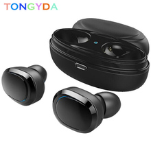 цена на Bluetooth Earphone With Mic Stereo Music Headphone Mini Earbud True Wireless Head Phone HandsFree Cordless Headset For Phone tws