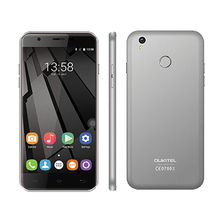 Original OUKITEL U7 Plus 4G /U7 Pro Cell Phone MT6737 Quad Core Fingerprint Smartphone 2G+16G 13MP Android 6.0 mobile phone