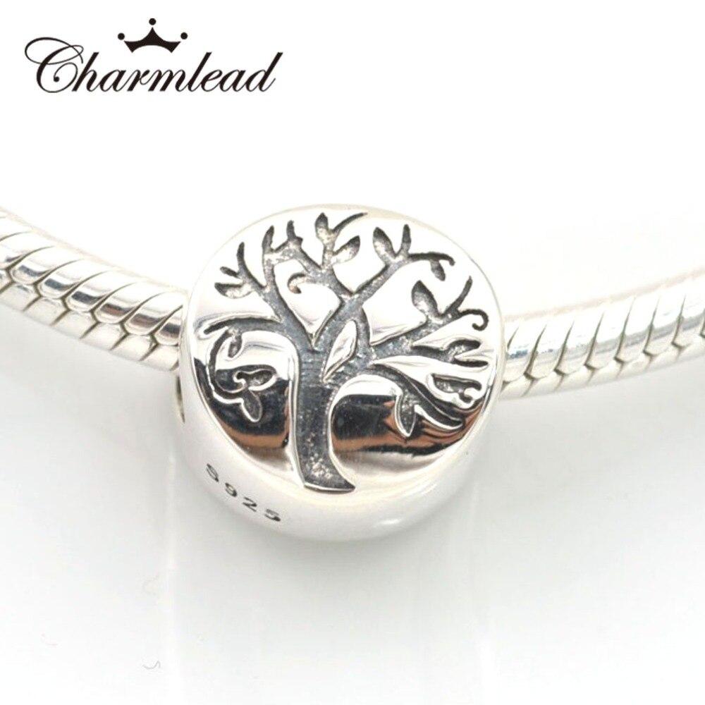 Fits Pandora Charms Bracelet 925 Sterling Silver Beads